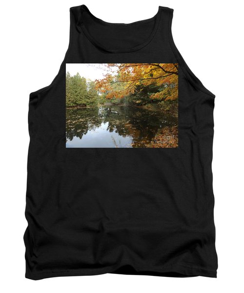 Tank Top featuring the photograph Tranquil Getaway by Brenda Brown