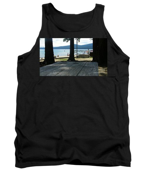 Tank Top featuring the photograph Tranquil Moment by Bobbee Rickard