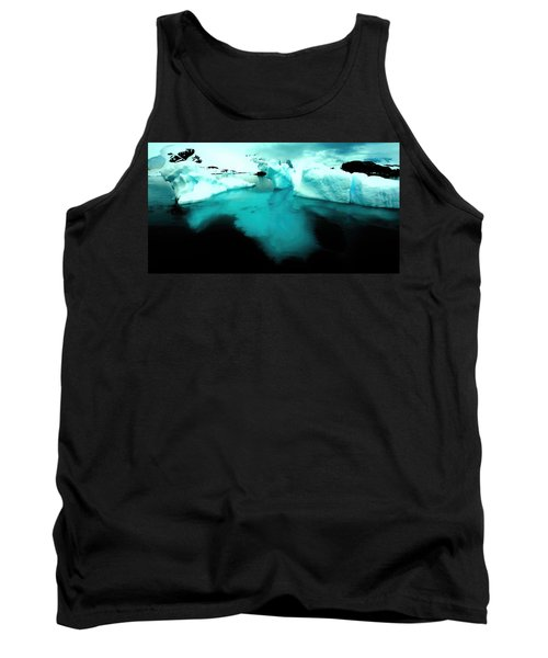 Tank Top featuring the photograph Transparent Iceberg by Amanda Stadther