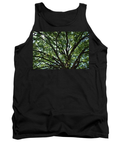 Tree Canopy Sunburst Tank Top