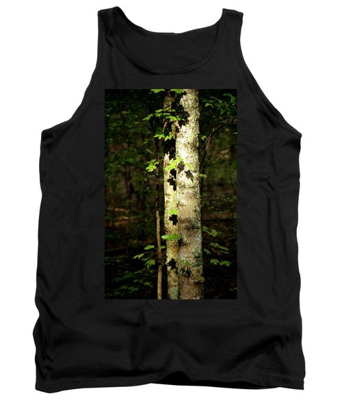 Tree In The Woods Tank Top