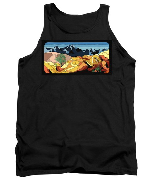 Tree Of Life Painting W/ Hidden Picture Tank Top