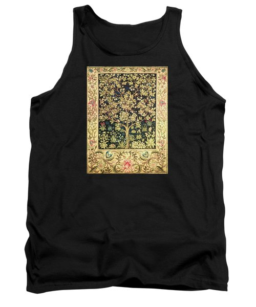 Tree Of Life Tank Top by William Morris