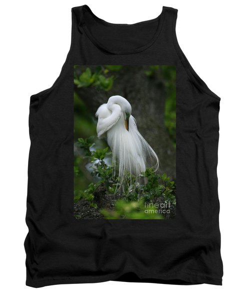 Tank Top featuring the photograph Tree Of Plumes by John F Tsumas