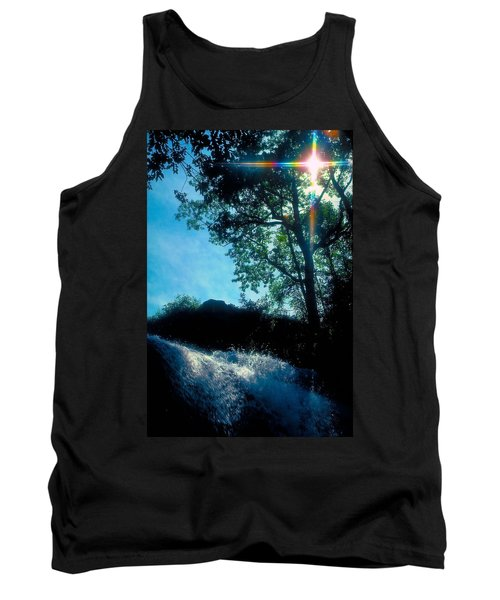 Tank Top featuring the photograph Tree Planted By Streams Of Water by Marie Hicks