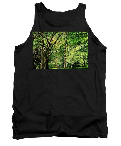 Tank Top featuring the photograph Tree Series 3 by Elf Evans