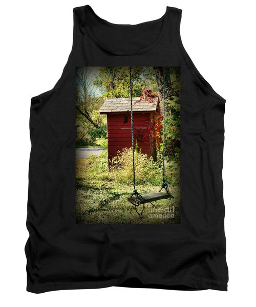Tree Swing By The Outhouse Tank Top