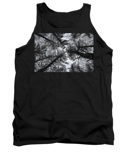 Trees In Winter Tank Top