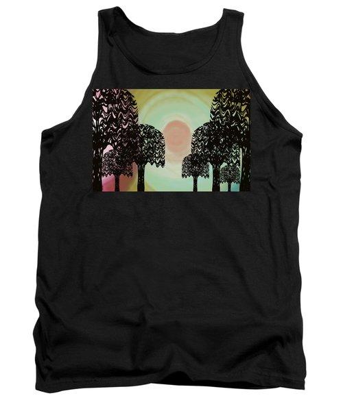 Trees Of Light Tank Top