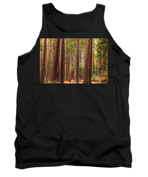 Trees Of Yosemite Tank Top
