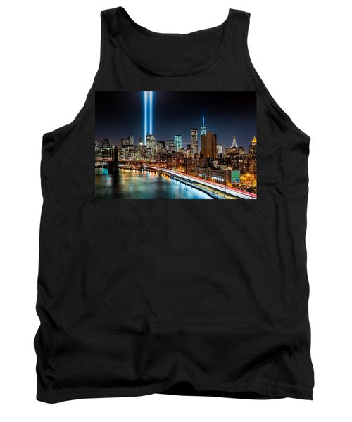 Tribute In Light Memorial Tank Top