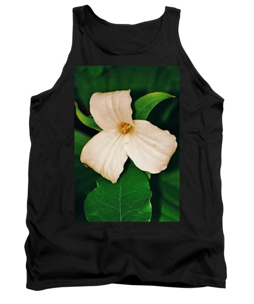 Tank Top featuring the photograph Trillium by Daniel Thompson