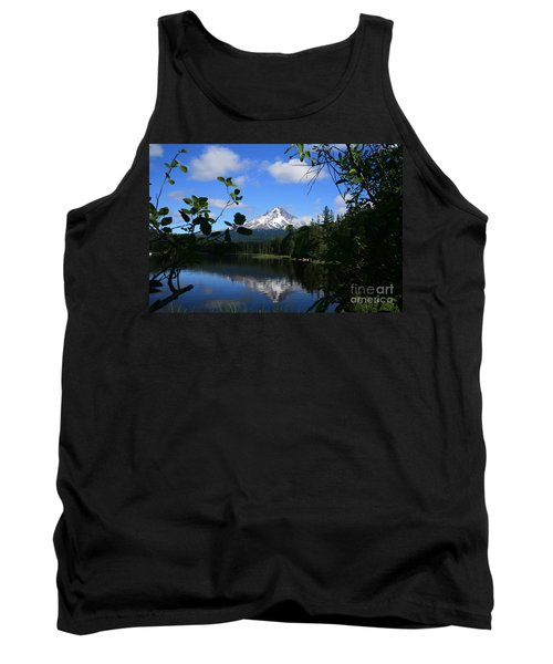 Trillium Lake With Mt. Hood  Tank Top