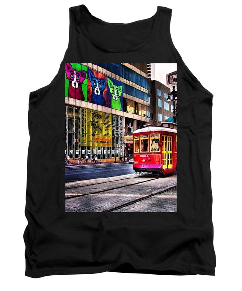 Trolley Time Tank Top