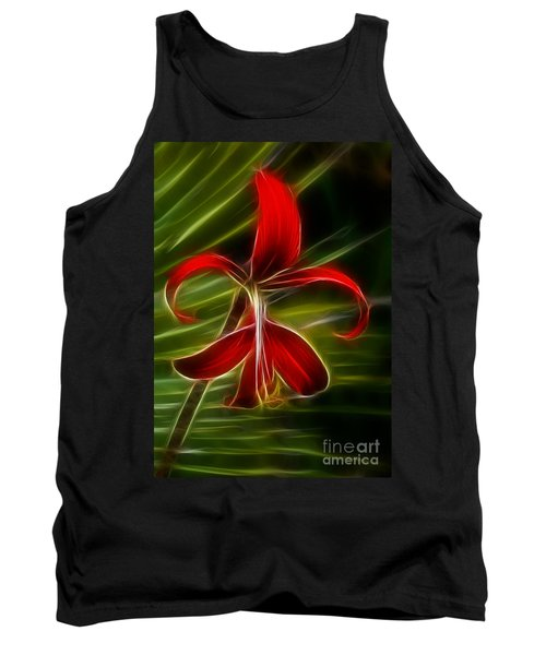 Tropical Abstract Tank Top