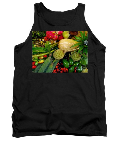 Tropical Fruits Tank Top by Carey Chen