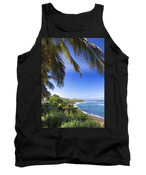Tropical Holiday Tank Top by Daniel Sheldon