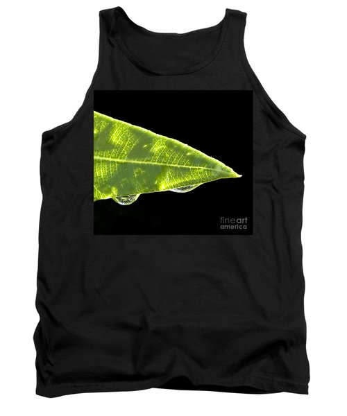 Tropical Reflections Tank Top by Anne Rodkin