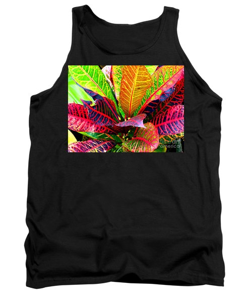 Tropicals Gone Wild Naturally Tank Top