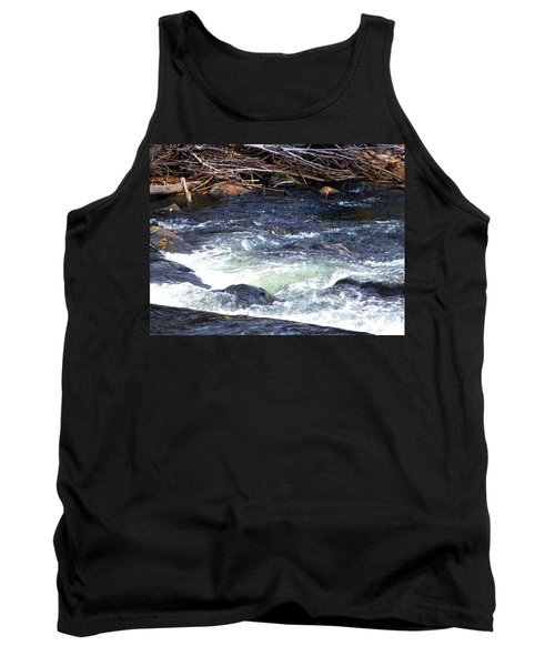 Tank Top featuring the photograph Trout River by Jackie Carpenter