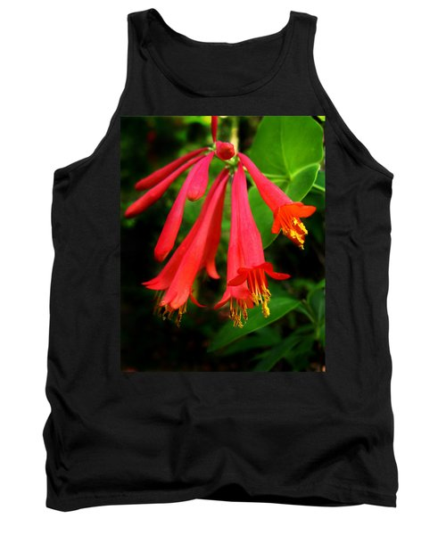 Wild Trumpet Honeysuckle Tank Top