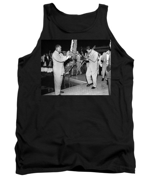 Trumpeter Louis Armstrong Tank Top