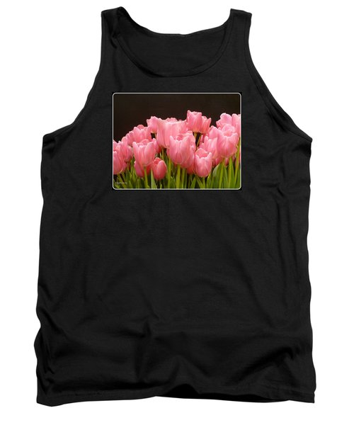 Tulips In Bloom Tank Top by Lingfai Leung