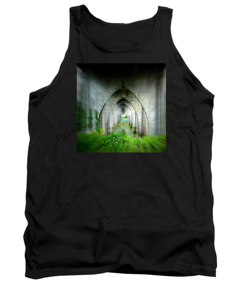 Tunnel Effect Tank Top