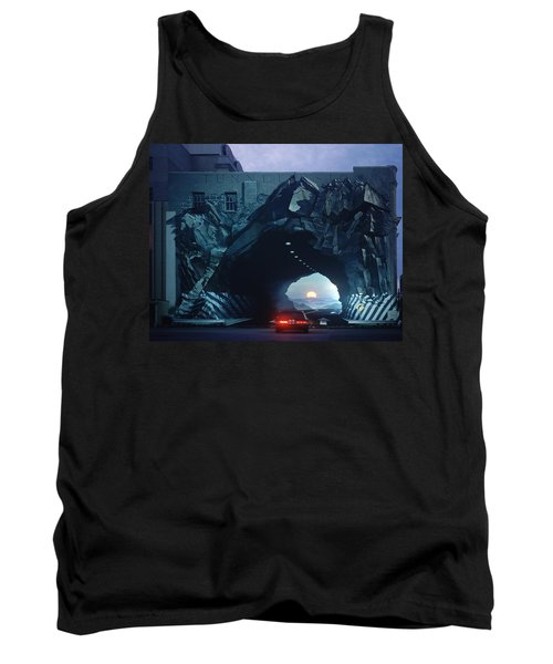 Tunnelvision Tank Top by Blue Sky