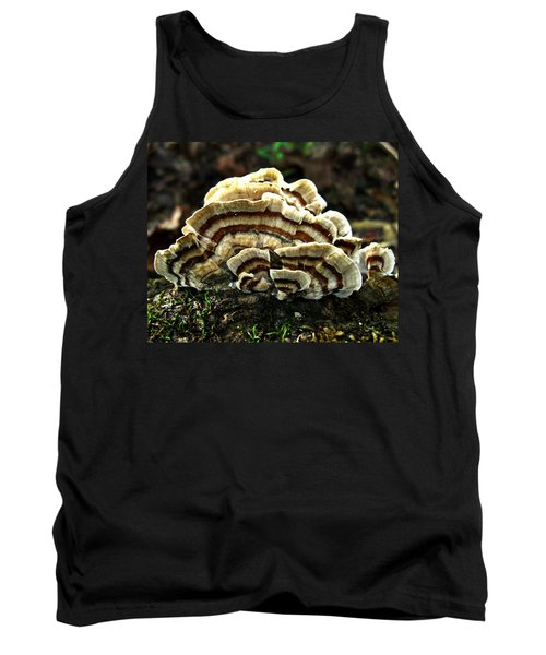 Turkey Tail Fungi Tank Top