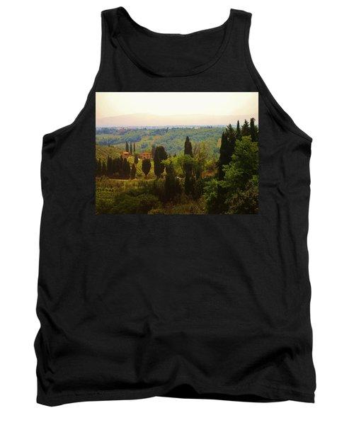 Tuscan Landscape Tank Top