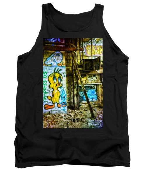 Tank Top featuring the photograph Tweety by Debra Fedchin