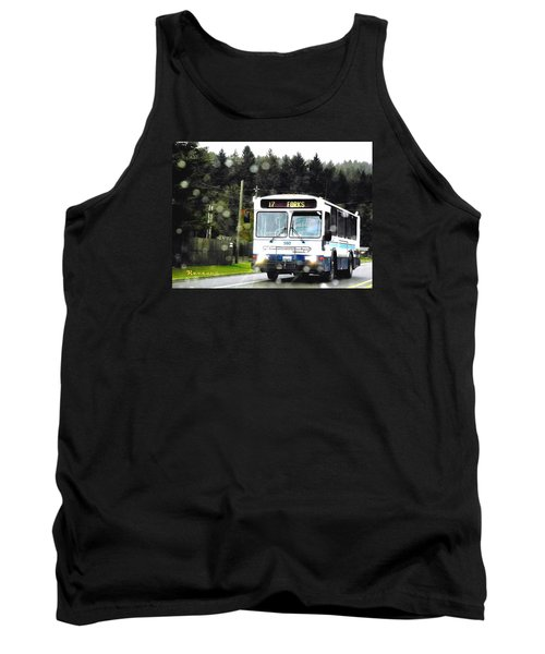 Tank Top featuring the photograph Twilight In Forks Wa 1 by Sadie Reneau