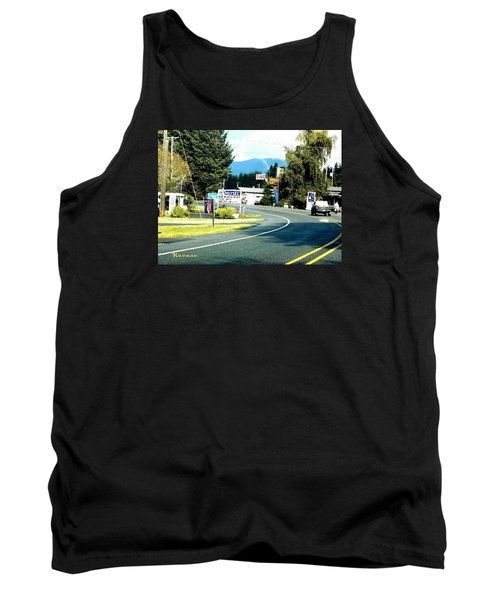 Tank Top featuring the photograph Twilight In Forks Wa 2 by Sadie Reneau