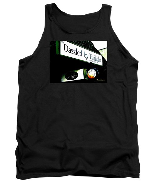 Tank Top featuring the photograph Twilight In Forks Wa 4 by Sadie Reneau