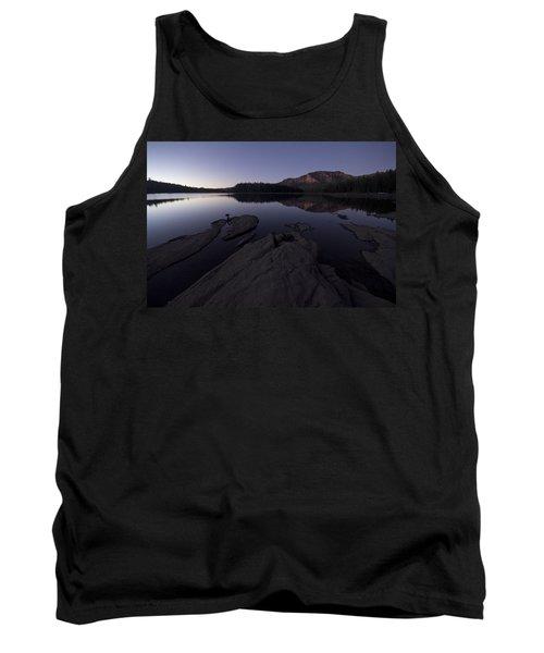 Twilight On Silver Lake Tank Top
