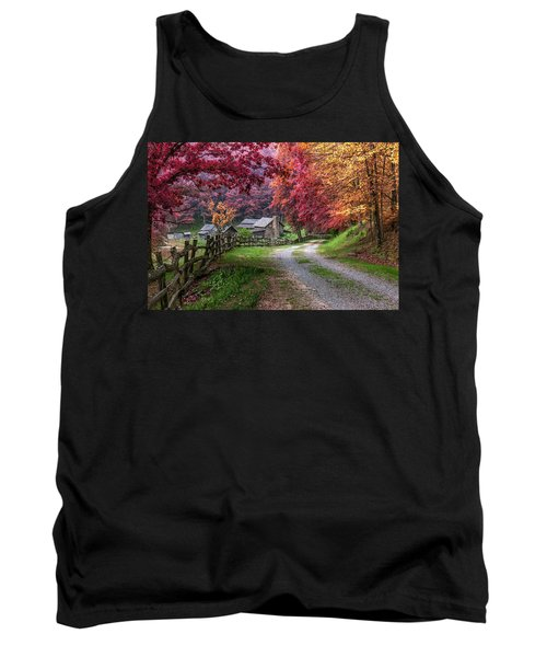 Twin Falls State Park Tank Top by Mary Almond
