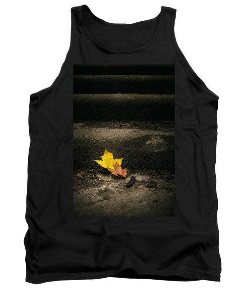 Two Leaves On A Staircase Tank Top
