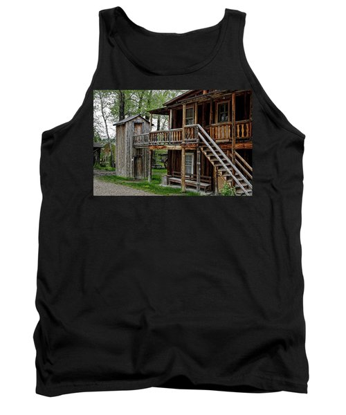 Two Story Outhouse - Nevada City Montana Tank Top