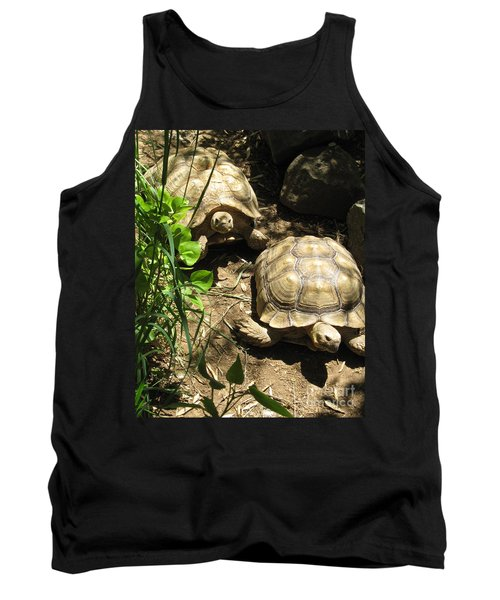 Two Tortoises Tank Top by CML Brown