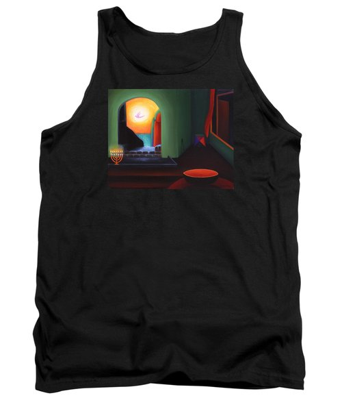 Two Worlds Tank Top