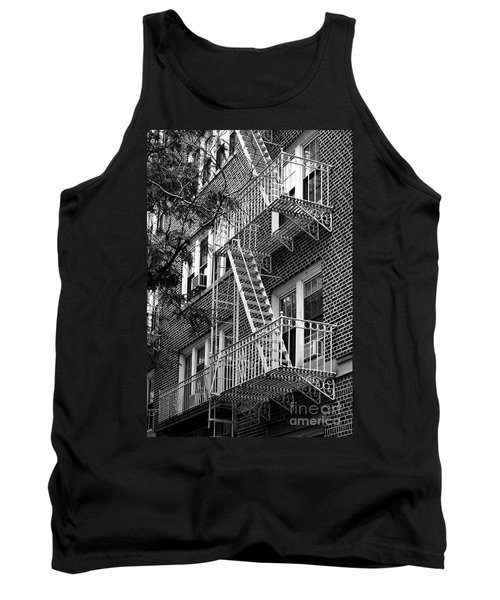 Typical Building Of Brooklyn Heights - Brooklyn - New York City Tank Top