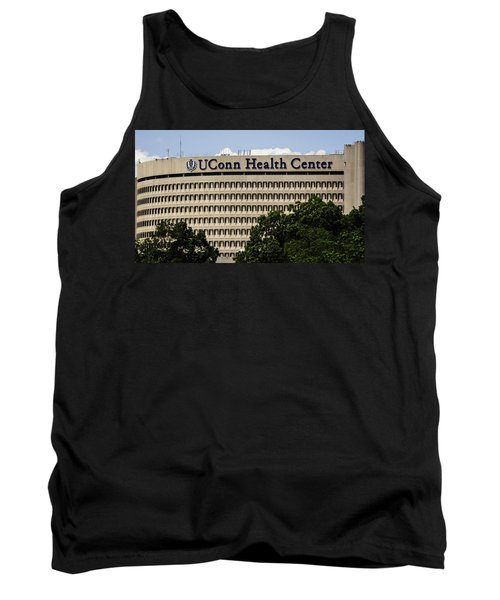 University Of Connecticut Uconn Health Center Tank Top by Phil Cardamone