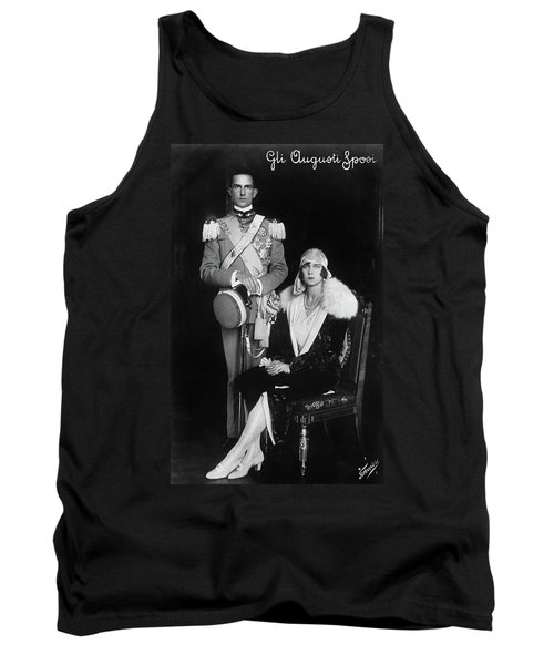 Tank Top featuring the photograph Umberto II And Marie Jose by Granger