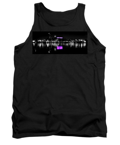 Under Amour At Night - Vibrant Color Splash Tank Top
