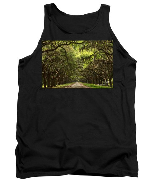 Under The Ancient Oaks Tank Top by Adam Jewell