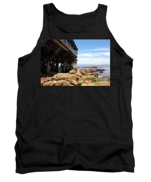 Under The Steinbeck Plaza Overlooking Monterey Bay On Monterey Cannery Row California 5d25048 Tank Top