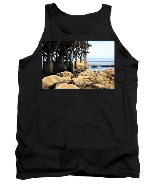 Under The Steinbeck Plaza Overlooking Monterey Bay On Monterey Cannery Row California 5d25050 Tank Top