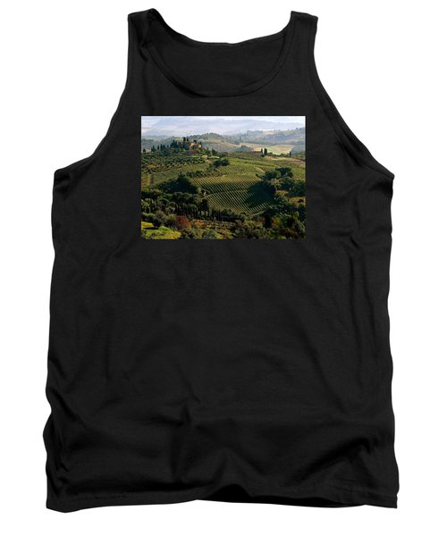 Under The Tuscan Sun Tank Top by Ira Shander