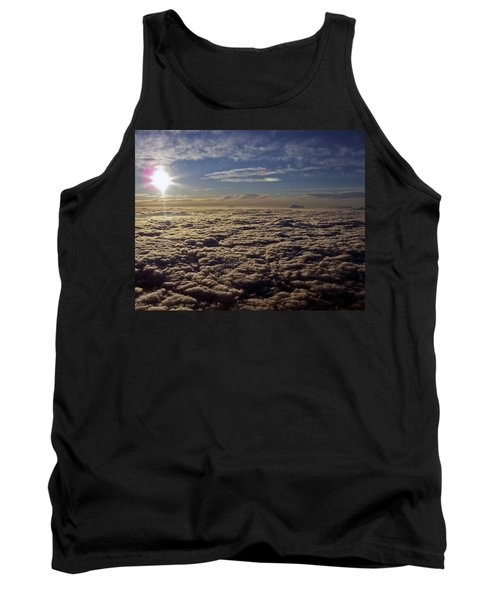 Tank Top featuring the photograph Undercast And Sun by Greg Reed